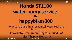 HONDA ST1100//A PAN EUROPEAN WATER PUMP SEAL AND BEARING KIT 90-02